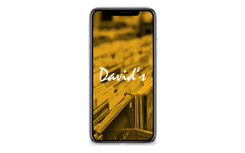Davids Bookshop Website