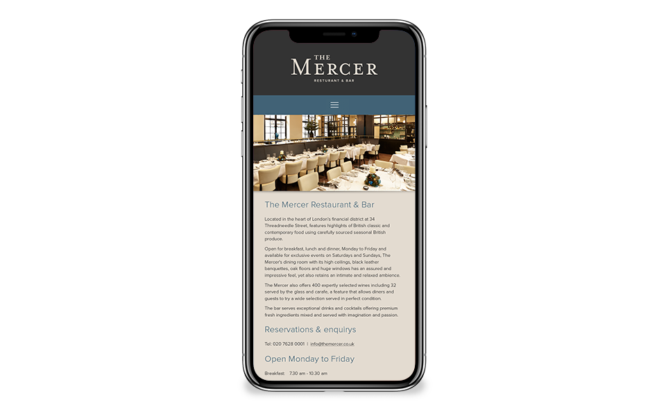 The Mercer website